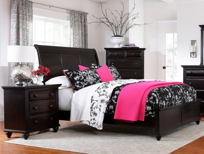 South Shore Back Bay Platform Bed Frame