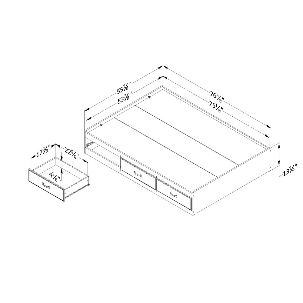 South Shore Bed Frame Reviews