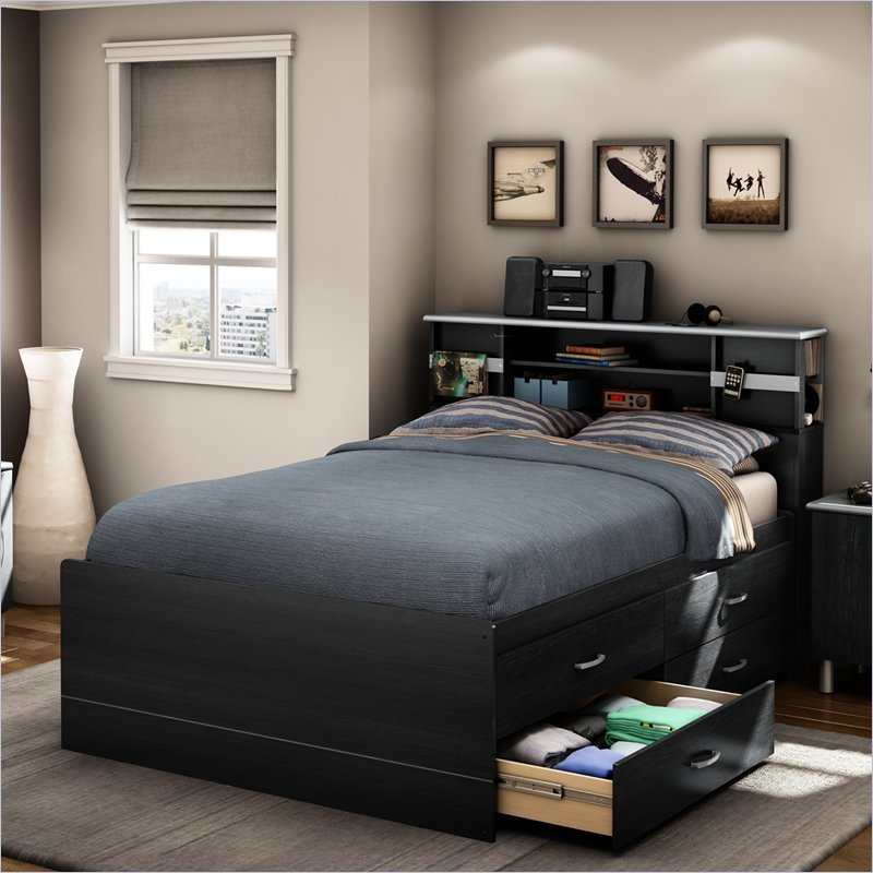 South Shore Bed Frame With Storage
