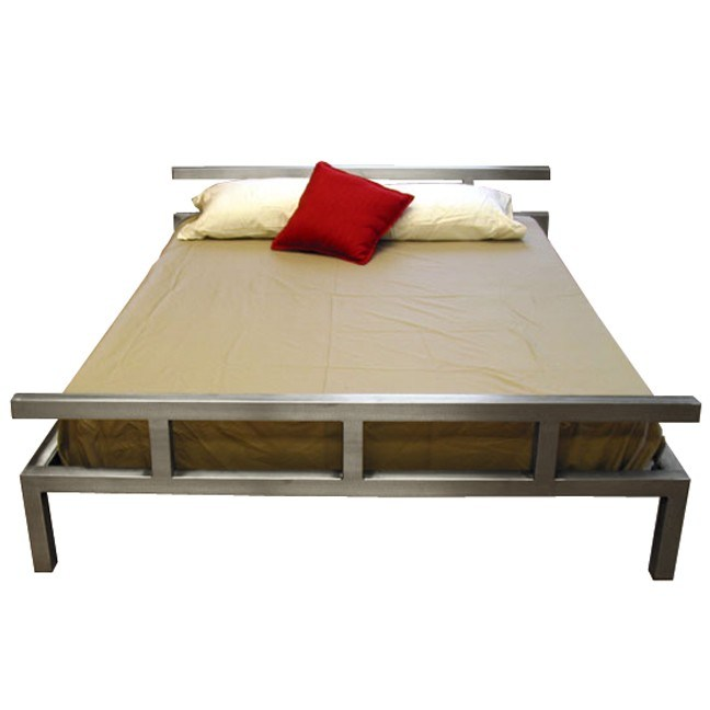 Steel Platform Bed Frame King