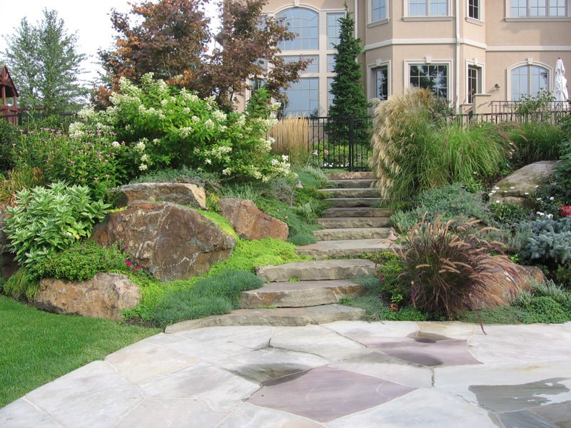 Stone Landscaping Ideas Design