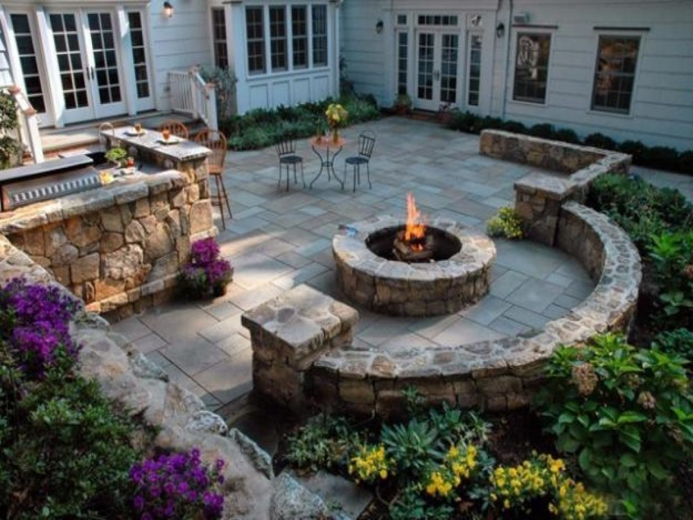 Stone Wall Landscaping Ideas