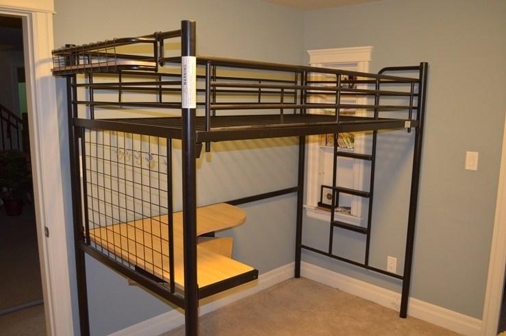 Stora Full Size Loft Bed Frame Ikea