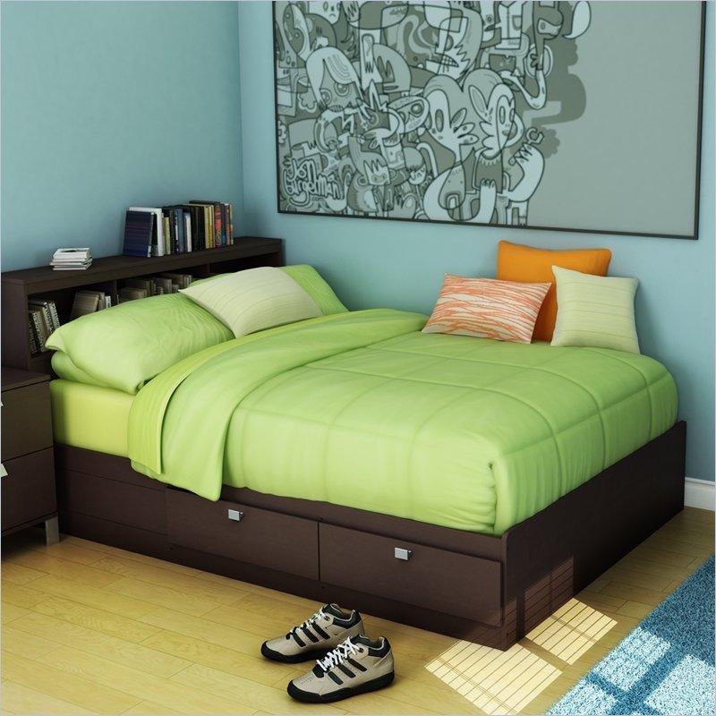 Storage Bed Frame Full
