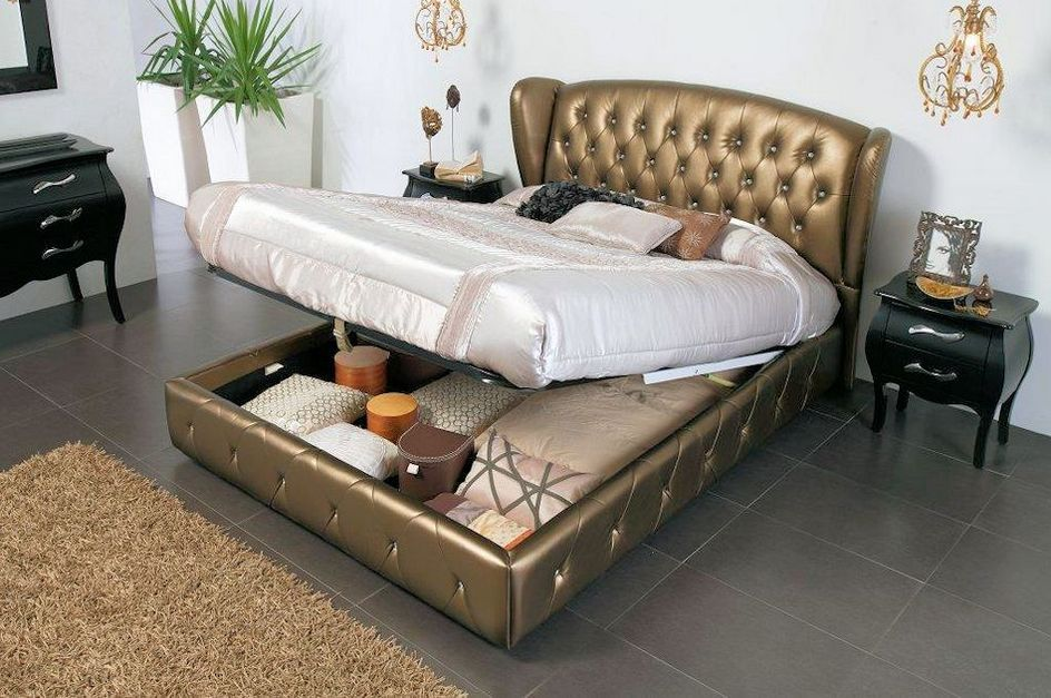 Storage Bed Frame King Size