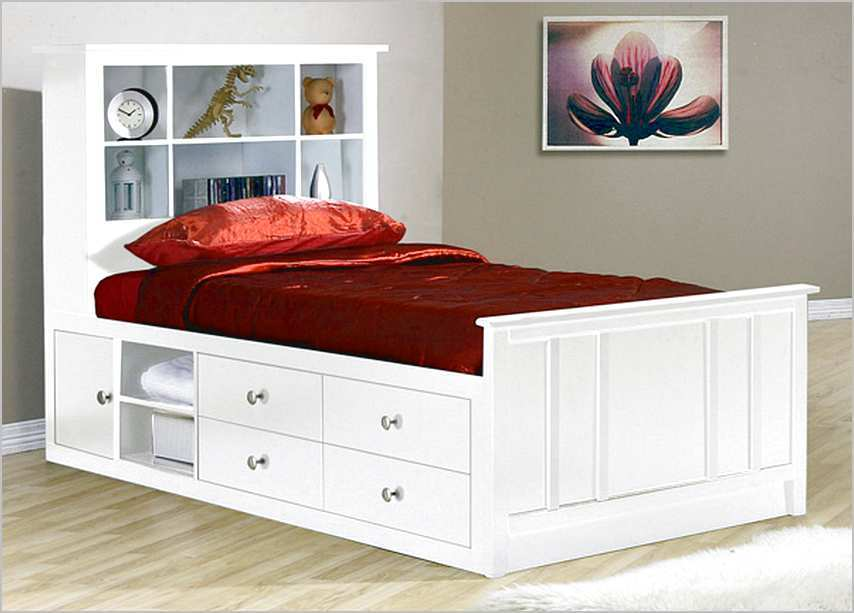 Storage Bed Frame Twin