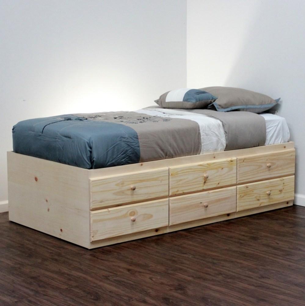 Storage Bed Frames Twin
