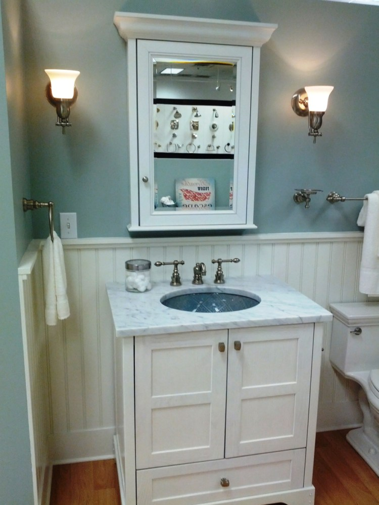 Storage Ideas For Small Bathrooms Pinterest