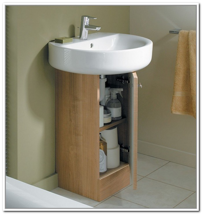 Storage Ideas For Small Bathrooms With Pedestal Sinks