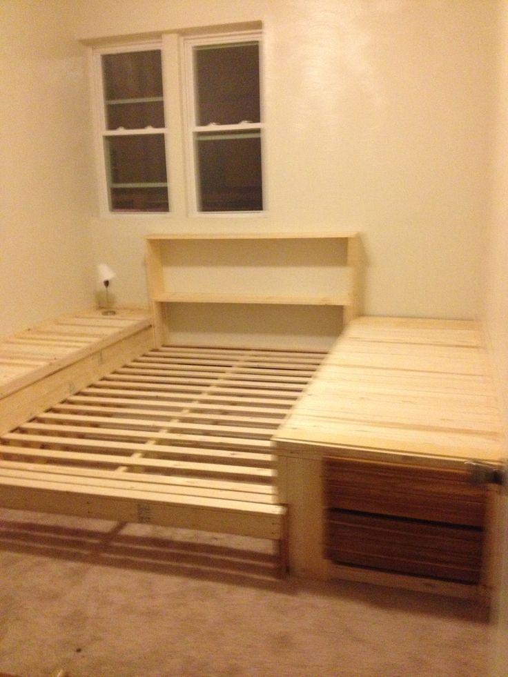 Sunken Platform Bed Frame