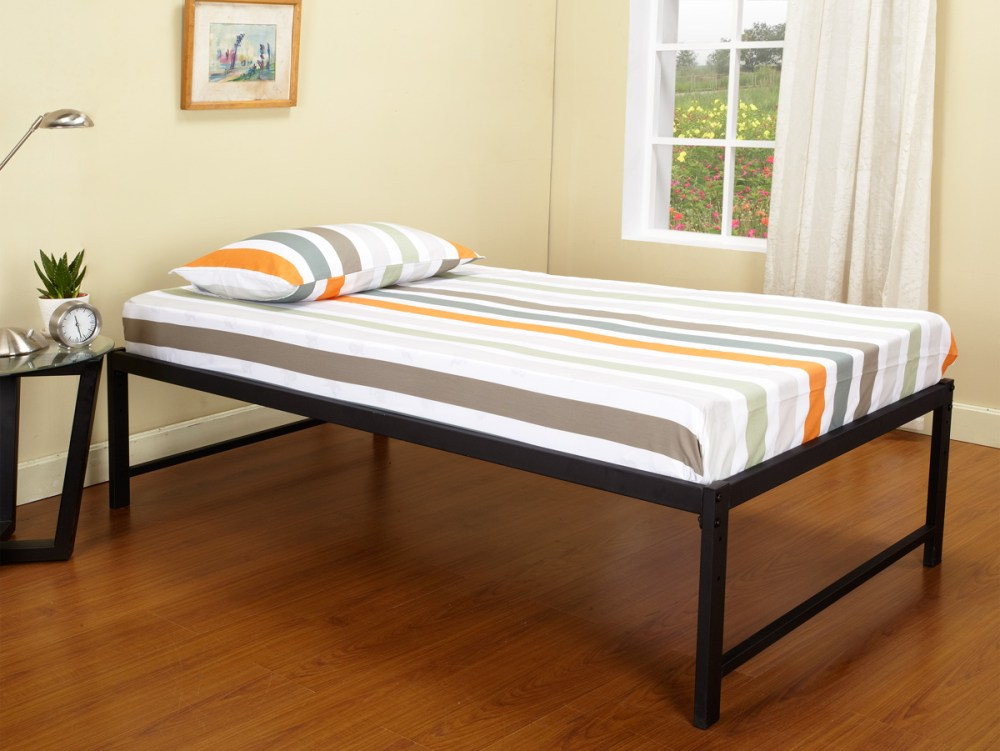 Tall Metal Platform Bed Frame