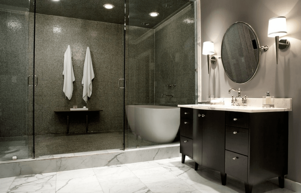 Tiny Bathroom Shower Tile Ideas