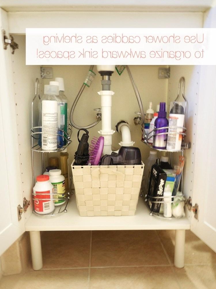 Tiny Bathroom Storage Ideas Pinterest