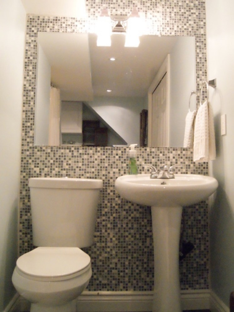 Tiny Half Bathroom Designs