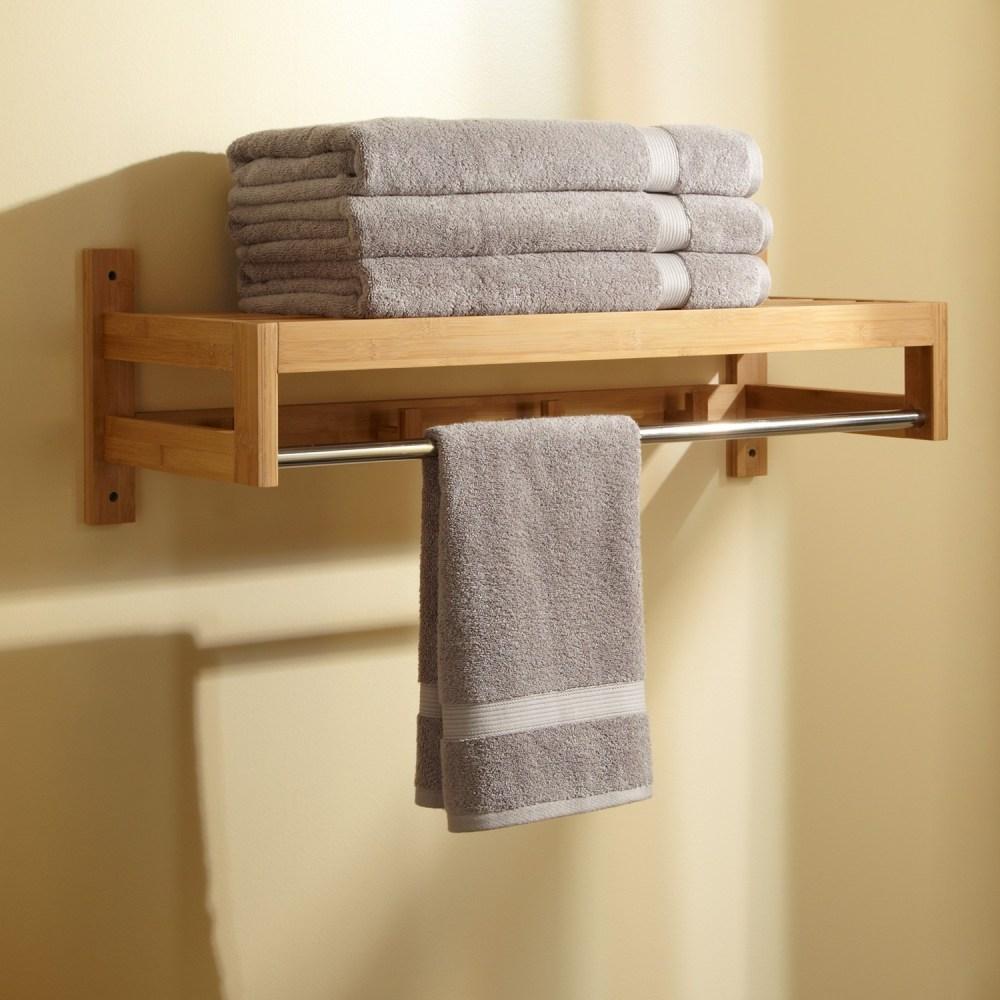 Towel Holder Ideas For Small Bathroom