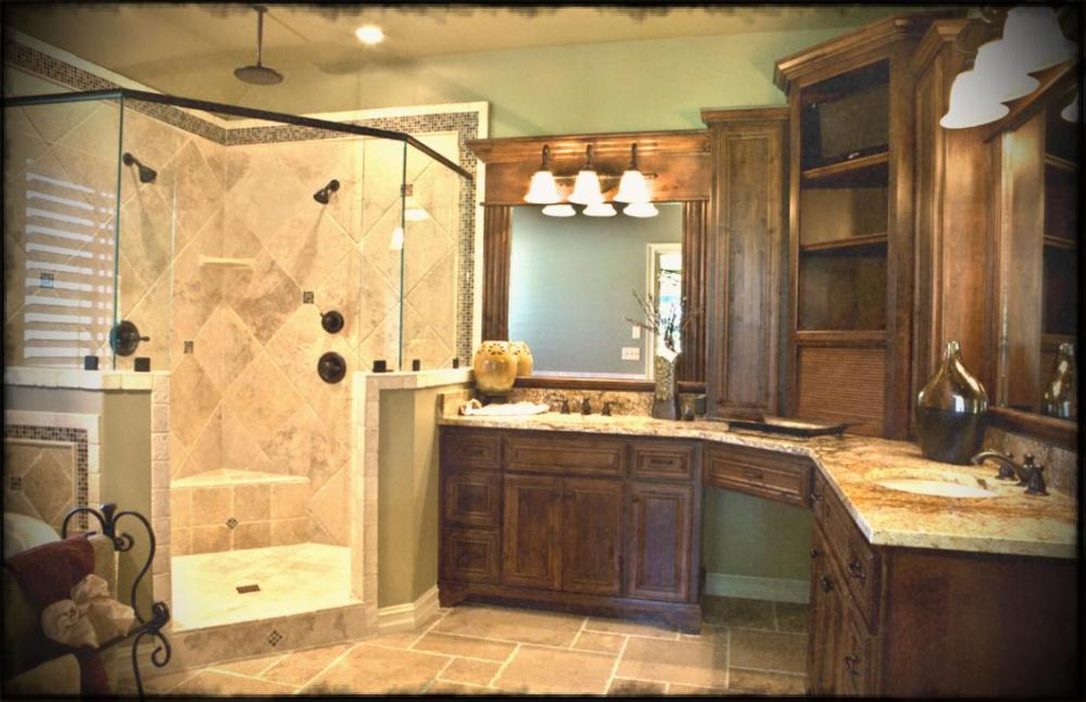 Traditional Master Bathroom Decorating Ideas