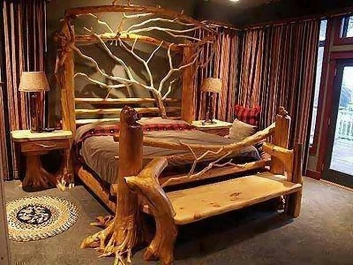 Tree Bed Frame
