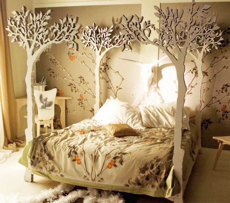 Tree Canopy Bed Frame