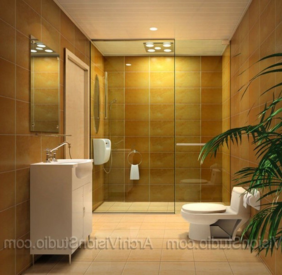 Tropical Bathroom Images