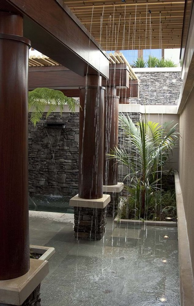 Tropical Bathroom Shower Ideas