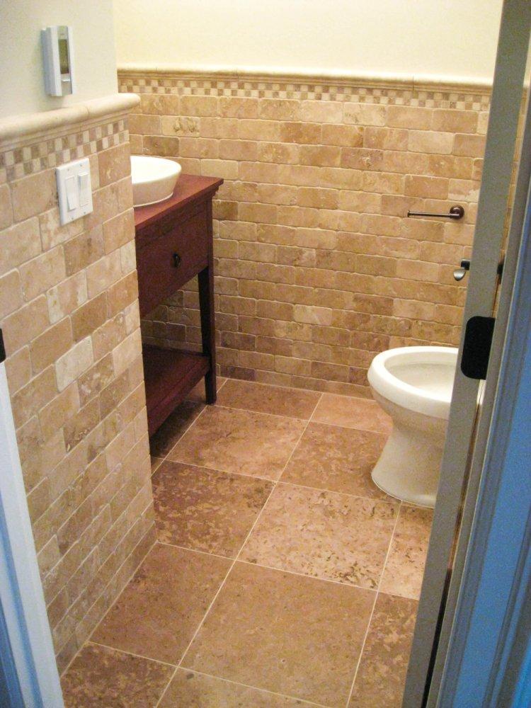 Tropical Bathroom Tile Ideas