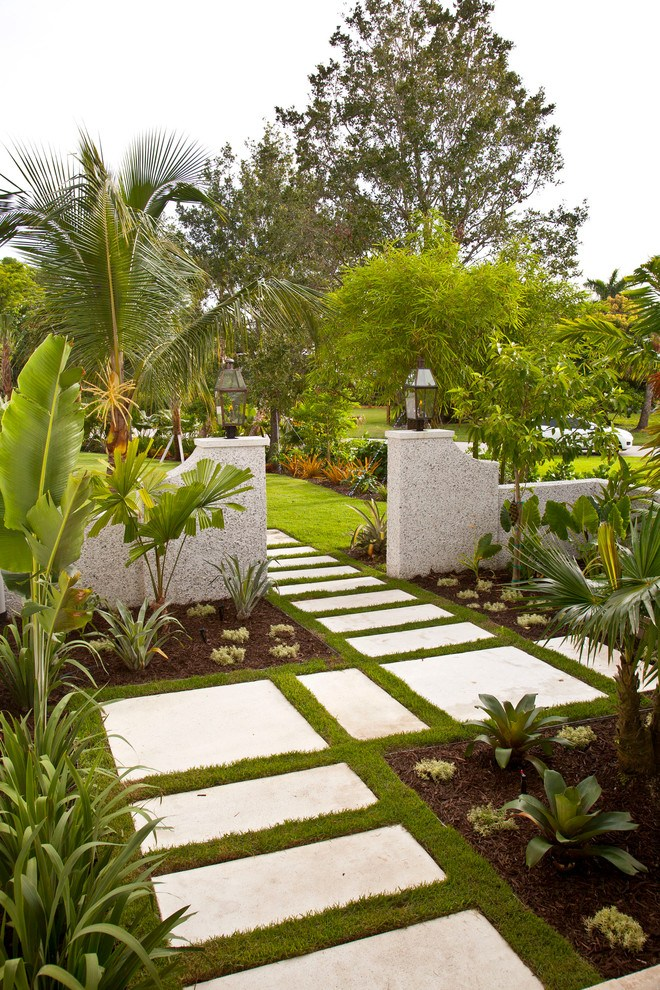 Tropical Landscape Ideas Backyards