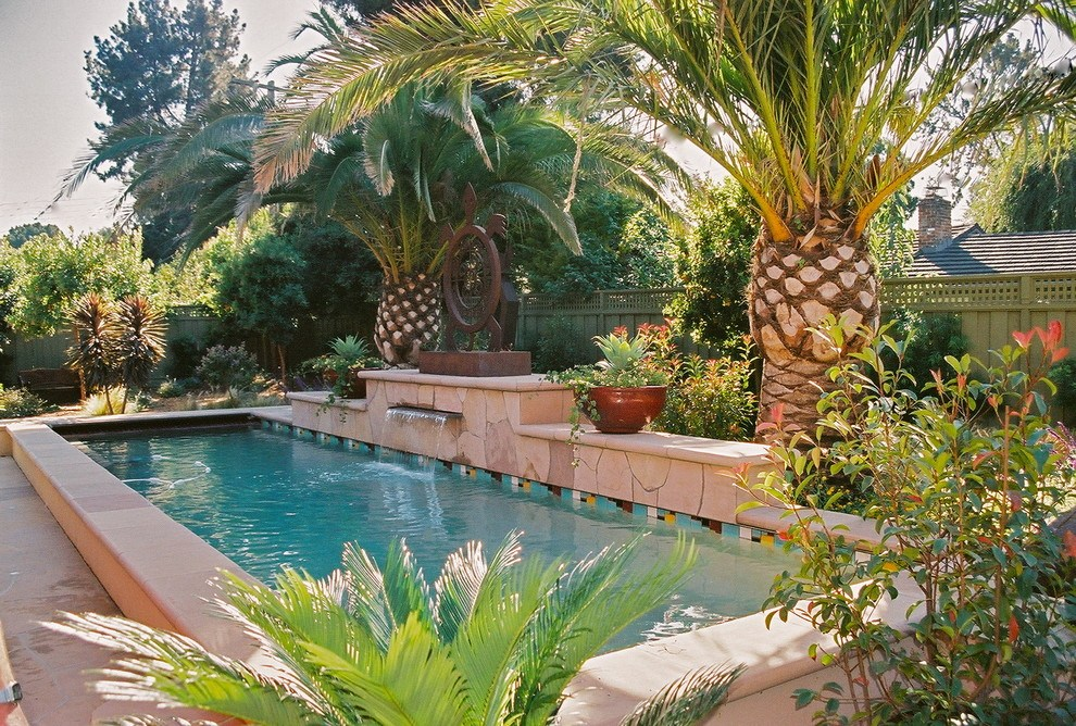 Tropical Landscape Ideas Pool