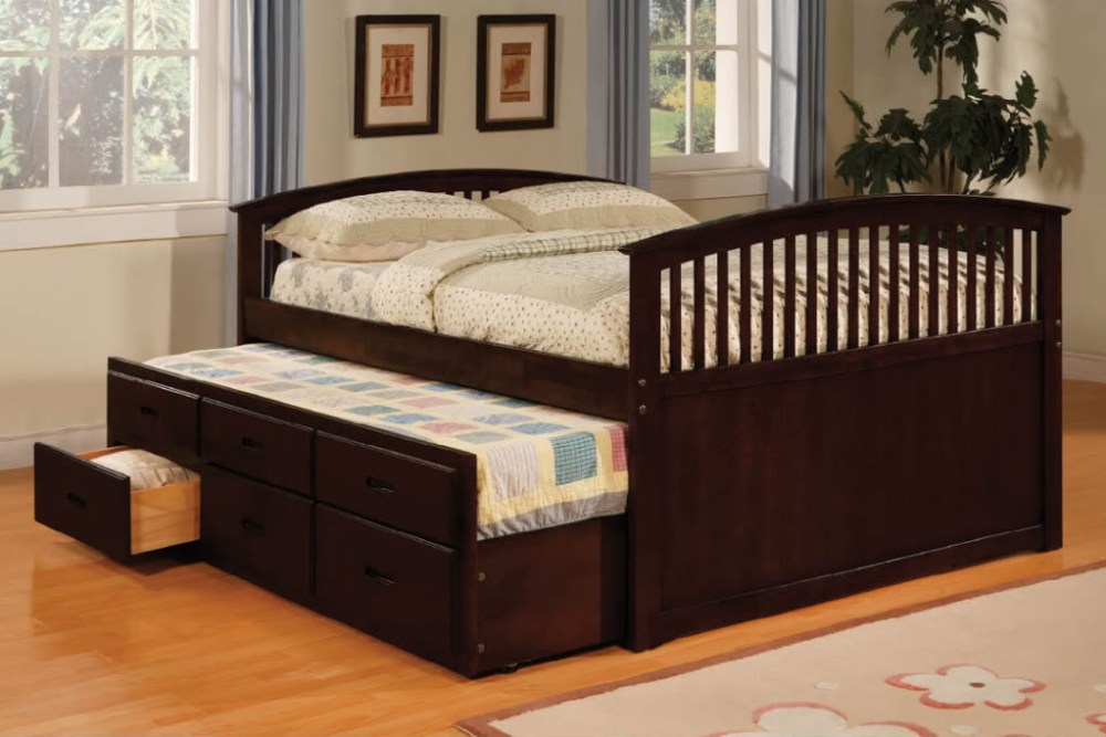 Trundle Bed Frame Full