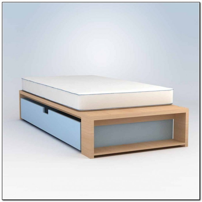 Trundle Bed Frame Pop Up Twin