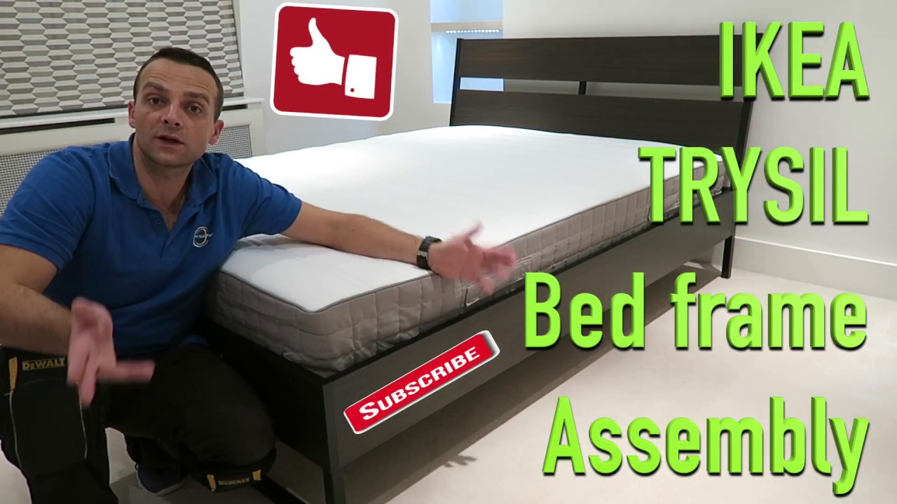 Trysil Bed Frame Assembly