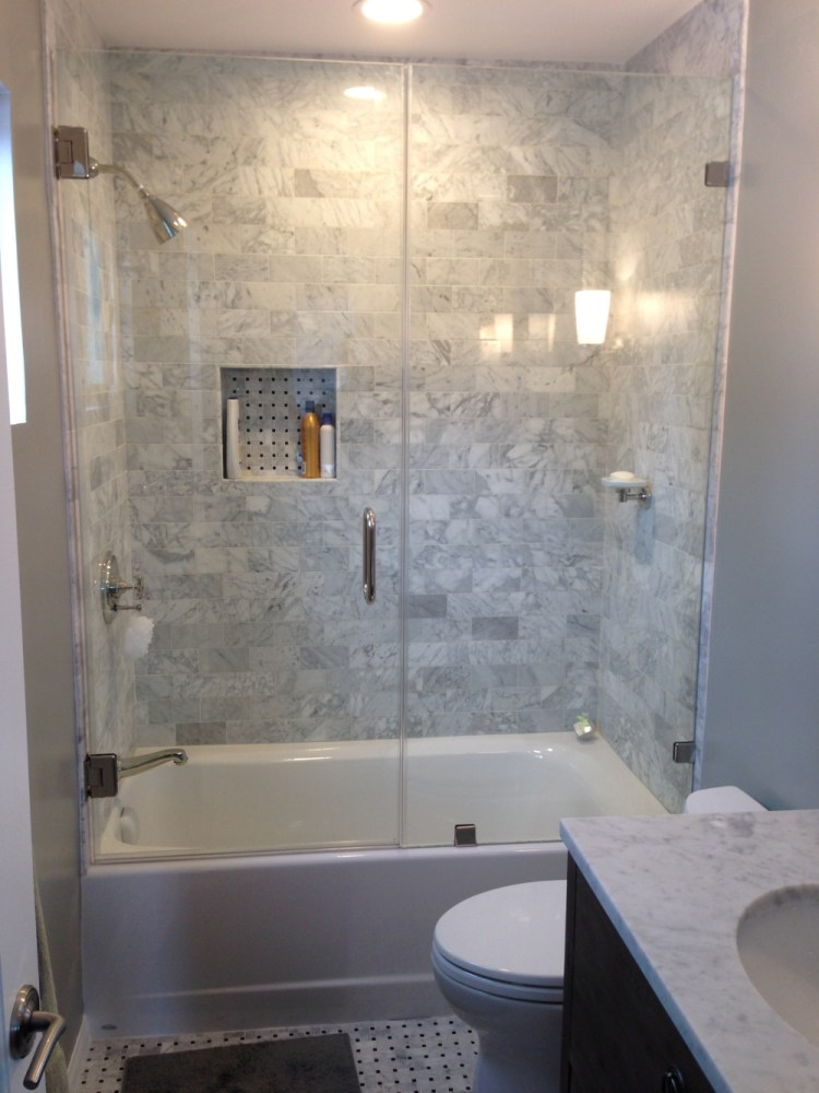 Tub Shower Ideas For Small Bathrooms
