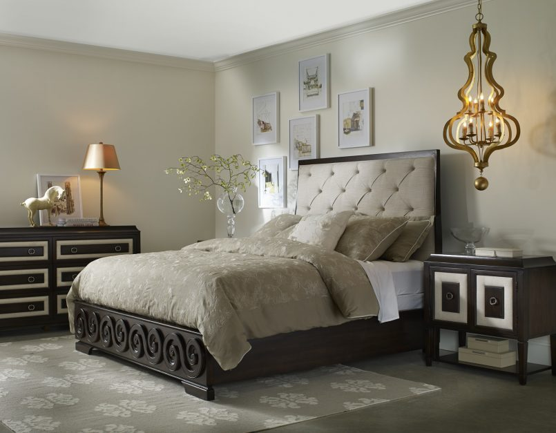 Tufted Bed Frame Cal King