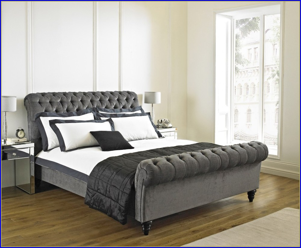 Tufted Bed Frame Canada