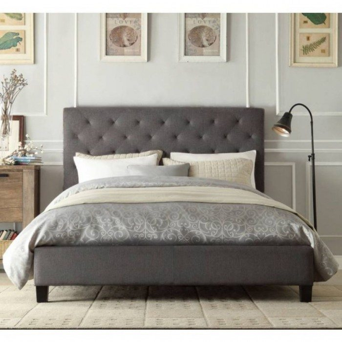 Tufted Bed Frame Double