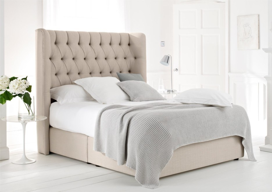 Tufted Queen Bed Frame
