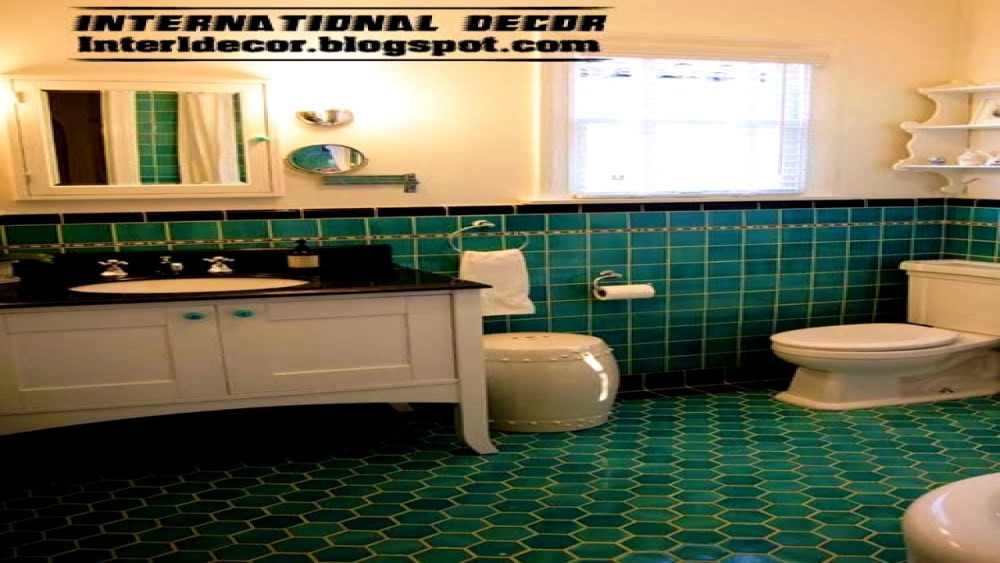 Turquoise Bathroom Images