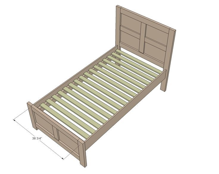 Twin Bed Frame Ana White