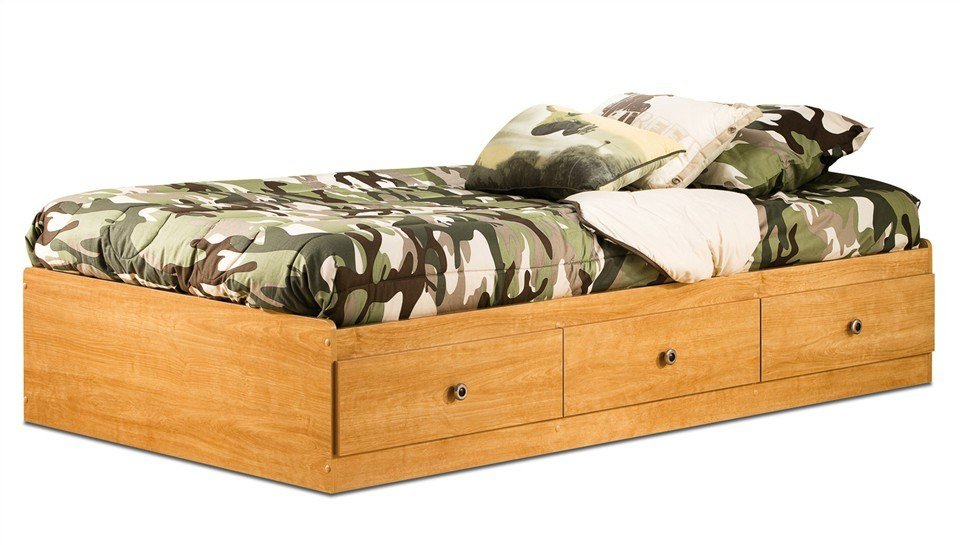 Twin Bed Frame Plans With Drawers