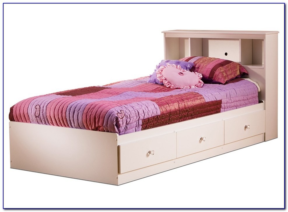 Twin Bed Frame With Drawers Toronto