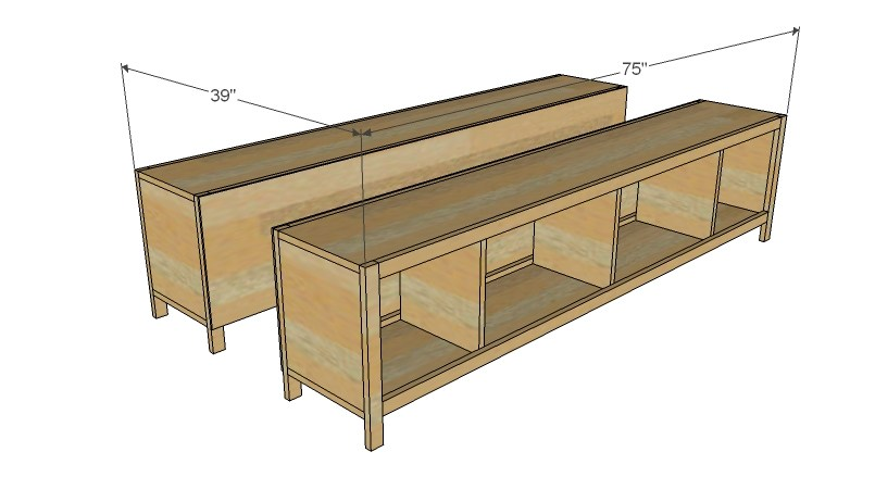Twin Bed Frame With Storage Plans