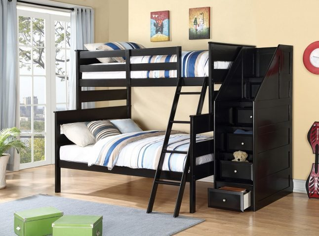 Twin Bed Frame With Trundle And Storage