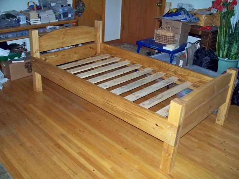 Twin Bed Frame Wood Diy