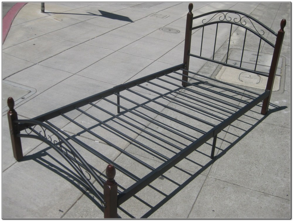 Twin Bed Metal Frame