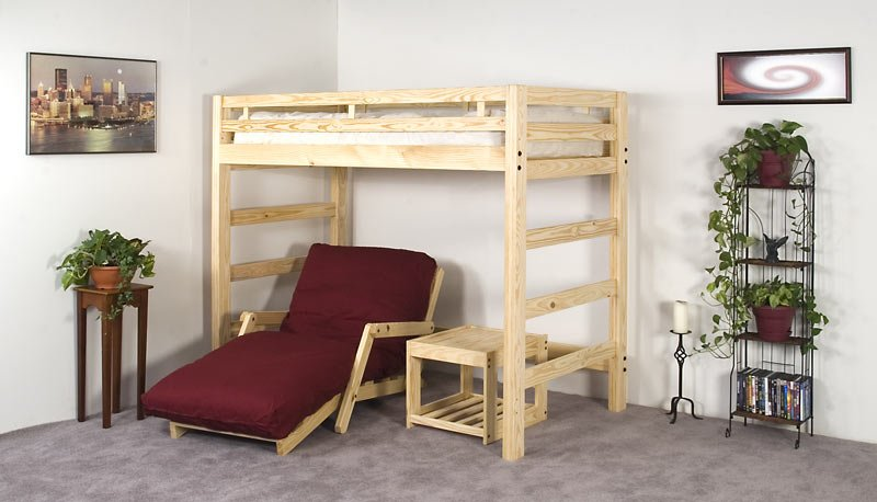 Twin Liberty Loft Bed Frame