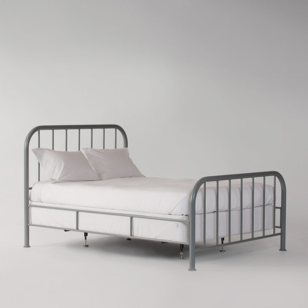 Twin Metal Bed Frame With Wheels