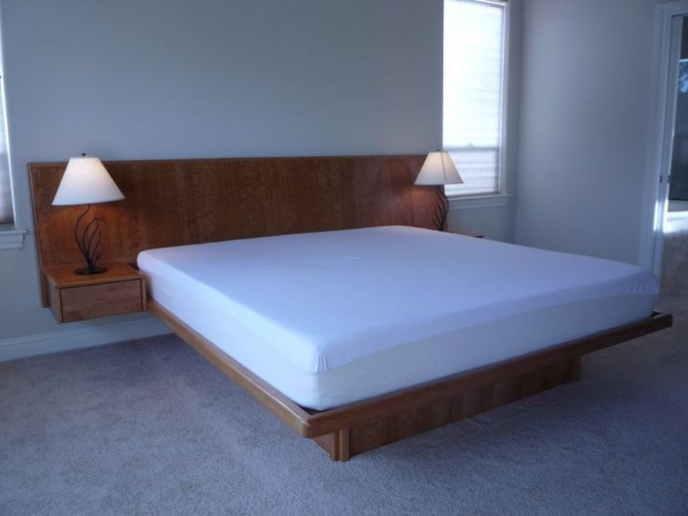 Twin Size Bed Frame And Mattress Set