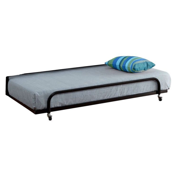 Twin Size Metal Trundle Bed Frame