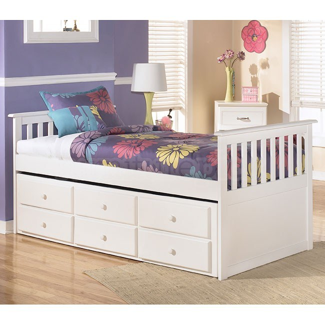Twin Trundle Bed Frame With Storage