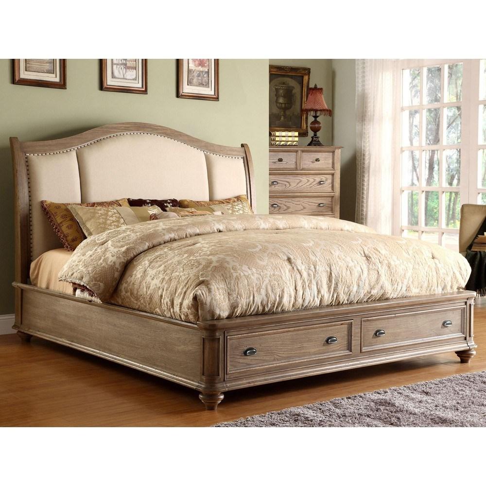 Upholstered Bed Frame California King