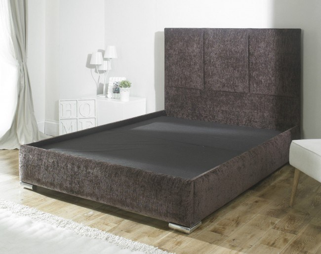 Upholstered Bed Frame King Single